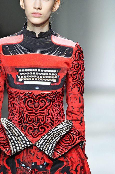 Mary Katrantzou, Typewriter Dress,