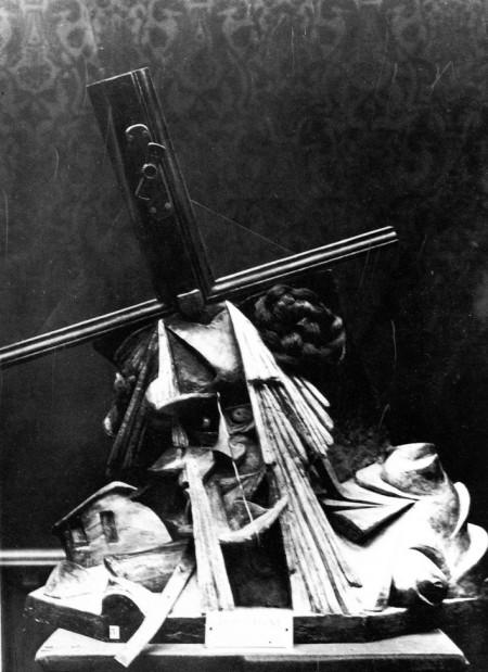 Umberto Boccioni, Fusione di una testa e di una finestra, 1911-12, opera distrutta.